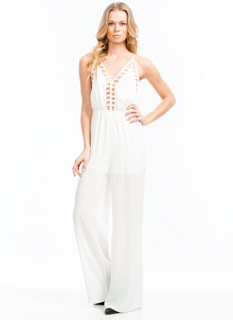 Strappy Crisscross Jumpsuit