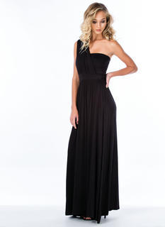 Asymmetrical Goddess Maxi Dress