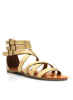 Metallic Granola Girl Sandals