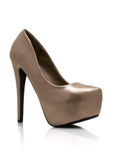 Shine On Platform Pumps