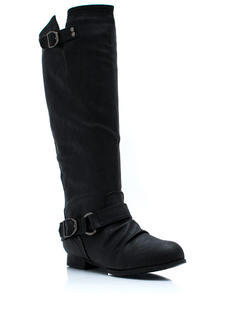 New Shoes: Stand Up Tall Zip-Back Boots