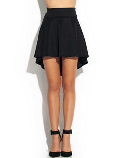 High-Low Skater Girl Skirt