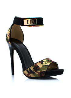 Hide And Seek Camo Heels
