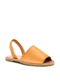Faux Leather Traveler Slingback Sandals