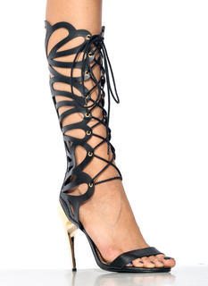 Shine On Gladiator Heels