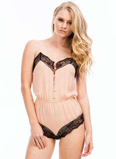 Embrace The Lace Teddy Romper