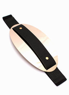 So Oval You Plate Belt