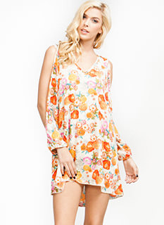 Floral Blossom Shift Dress