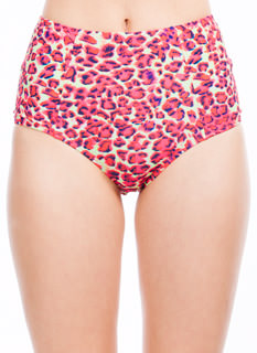 Animal Magnetism Printed Bikini Briefs