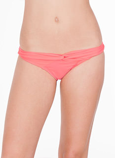 Twist Front Bikini Brief Bottoms