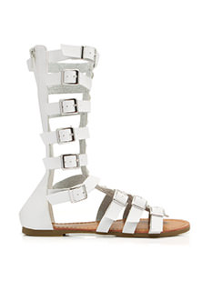 Jewel Of The Arena Gladiator Sandals