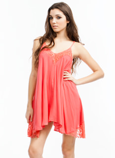 Sublime Lace Cami Dress