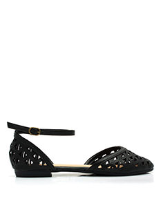 Triangular Laser Cut Sandals