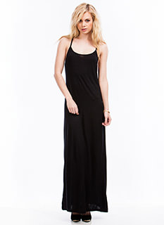 Slip Away Strappy Cami Maxi Dress