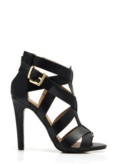 Criss-Cross Me Strappy Heels