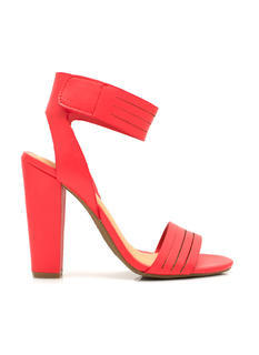 Slitting Pretty Strappy Heels