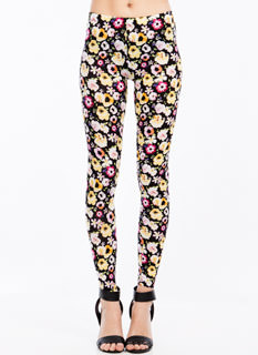 Posy Disposition Floral Print Leggings