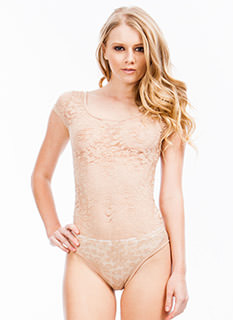 Lace To The Top Bodysuit