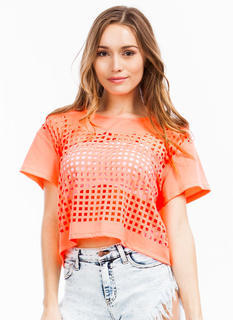 Squared Perfection Cut-Out Top
