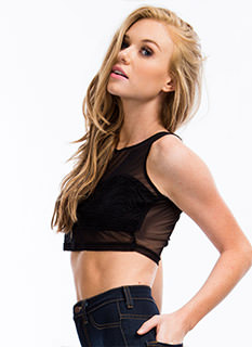 Sheer Wonder Cropped Tank