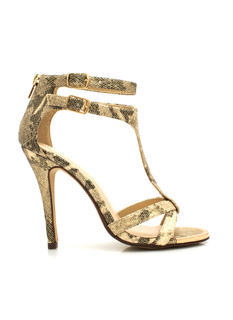 Shine On Snake Stiletto Heels