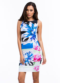 More Flower To You Bodycon Dress
