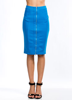 Expose Yourself Midi Skirt