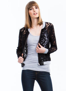 Lace Yourself Bomber Jacket