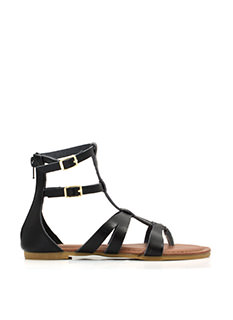 Strapped In Gladiator Sandals