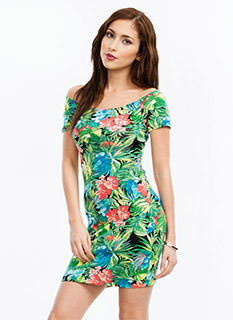 Tropical Nights Dress