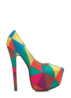 Contrasting Triangulated Platform Pumps