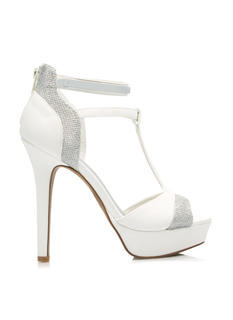 Glitter To The Top Platform Heels