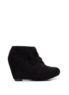 Living On The Wedge Booties
