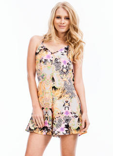 Mixed Feelings Romper