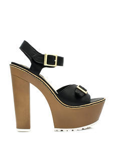 Into The Wooden Platform Heels