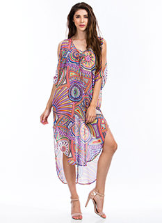 Psychedelic Babe Tunic Dress