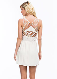 Talk Crochet To Me Dress