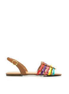 More Adventurous Multi-Colored Sandals