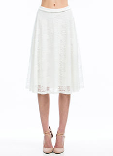 Live In Lace Midi Skirt