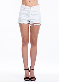 Up In Shreds Cut-Off Shorts