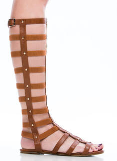 Caged Arena Gladiator Sandals