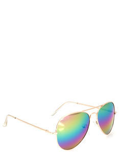 Hologram Lens Aviator Sunglasses