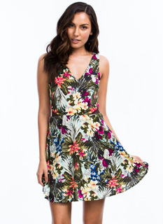 Written In Floral Skater Dress