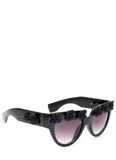 Rosette Embellished Sunglasses