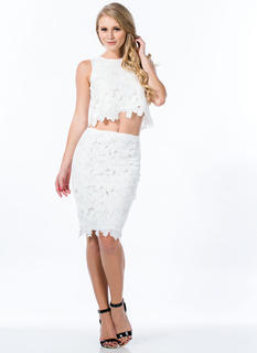Crochet Wonder Pencil Skirt