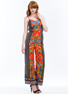Shapes N Flowers Jumpsuit