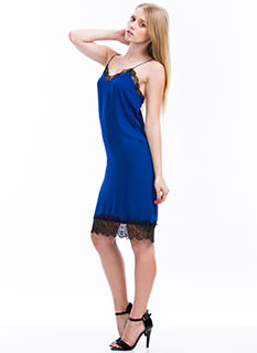 Trimmed In Lace Cami Dress