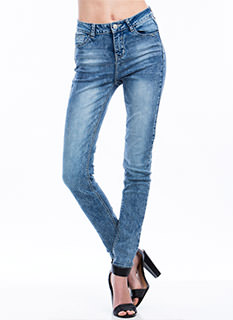 Not 4 Mom High-Waisted Skinny Jeans