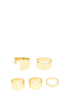 Asymmetrical Five Ring Set