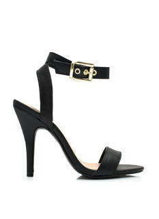 Keep It Simple Buckled Heels